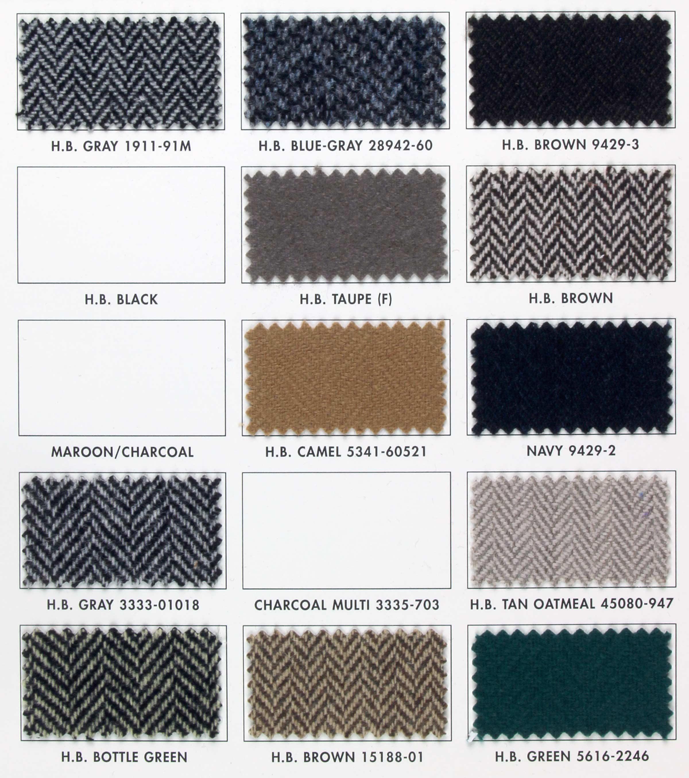 Herringbone Italian Wool